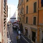 Trevi fountain is just around the corner