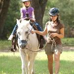 Horseback riding with Carol