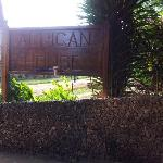 Entrance to African House