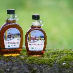 Organic maple syrup available in the farm store and on our web site www.hiddenspringsmaple.com