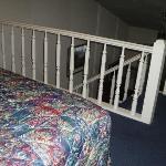 Bed loft area.
