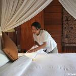 Honeymoon Suite villa - Bedroom