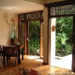 One Bedroom Garden villa - living area