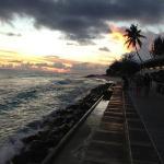 Allamanda Beach Boardwalk