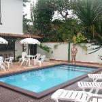 piscina, havitaciones segundo piso