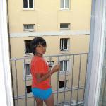 Balcony ...