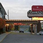 The Ramada Inn with Evah's Upstairs