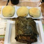 MUST TRY Barbecued pork buns & machang