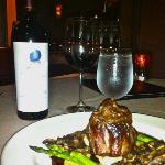 """The Black & Tan"" Signature Entree and Opus One"