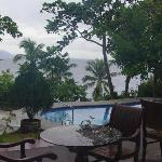 Padre Burgos Castle Resort, Leyte Island - view from pool