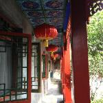 corridor in front of rooms