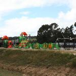 Kids playground at Cheeky Monkey