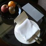 fruit in room