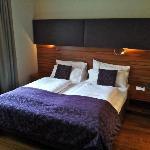 Chambre et literie confortables