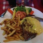 sirloin with bernaise