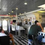 Penny's Diner interior entrance