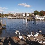Bowness-on-Windermere pier