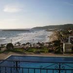 vue sur la plage de sant tomas