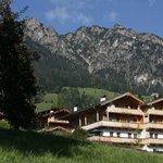 Gästehaus Larch im Sommer