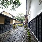 高井鴻山記念館あたり