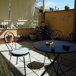 green room terrace