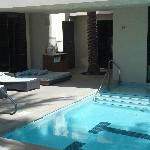 The serenity pool at The Spa