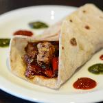 Chicken Masala Wrap