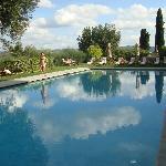 Beautiful (heated) pool..