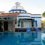 Pool at Hacienda Paraiso