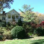 panoramic view of The Yellow House