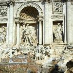 Trevi Fountain - 100 steps away