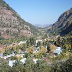 Overlooking Ouray,Colorado.