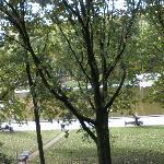 View from 4th-floor bedroom window