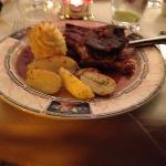pork and black pudding!