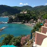 View of Monterosso from our room