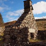 One of the ruins within Auchindrain
