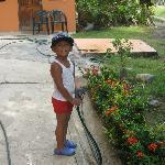 Our gardener !