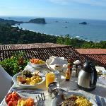 Breakfast view...Ah-mazing!