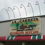 Sign of La Carreta