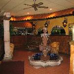 The inside of La Carreta. Beautiful Decor!!