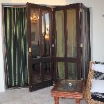 balcony doors from outside
