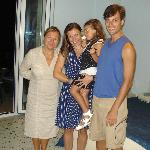 ANA y su niña amorosas con nuestros hijos