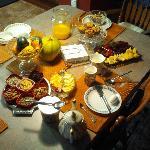 Breakfast Table for Nat R