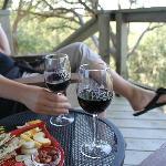 From our patio overlooking vinyard