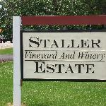 Staller Estate Vineyard and Winery sign