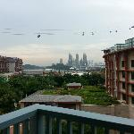View outside the balcony
