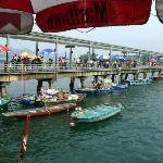 Sai Kung open seafood market