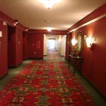 clean hallway