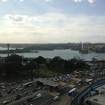 Even with the harbour Bridge traffic and the Cahill expressway, there was NO Noise!