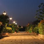 in the night [Mughal Garden]